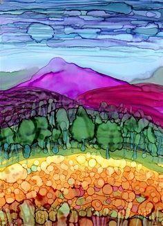 """""""Landscape 4"""" - Original Fine Art for Sale - © by Kristen Dukat"""