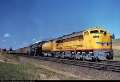 RailPictures.Net Photo: UP 65 Union Pacific Gas Turbine Electric at Cheyenne, Wyoming by Collection of Chris Zygmunt