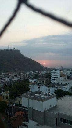 Barrio Pie de la Popa y el Cerro de la Popa