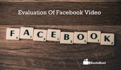 Evaluation of Facebook Video. Facebook is the only app that clustered the entire world and no one can occupy that place. Social Marketing, Marketing Digital, Facebook Marketing, Internet Marketing, Affiliate Marketing, Online Marketing, Marketing Training, Business Marketing, About Facebook