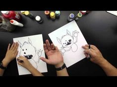 How to draw a werewolf - Art For Kids Hub