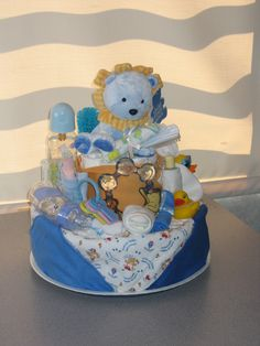 Diaper Cake for Boy 1 Front