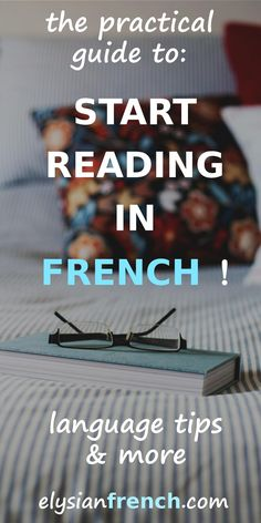 Read in French ! How to start reading in French when you are a complete beginner? Here's a practical guide to start off on the right foot! French Language Lessons, French Language Learning, French Lessons, Learning Spanish, Foreign Language, Spanish Lessons, Spanish Language, Language Arts, Read In French