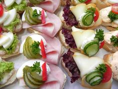 Shrimp Salad, Sushi, Good Food, Birthdays, Appetizers, Snacks, Ethnic Recipes, Party, Projects