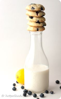 lemon blueberry cheesecake cookies