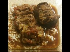 Smothered Oxtails and Gravy - how to cook oxtails - YouTube