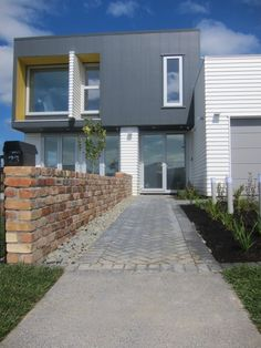 Stria® Cladding by James Hardie House Cladding, Facade House, Interior Cladding, House Facades, Home Remodeling Diy, Home Renovation, External Cladding, House Wall, Home Look