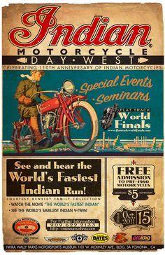 indian motorcycle vintage ad