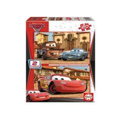 14938 - Puzzle Cars, 2 x 20 piezas, Educa.  http://sinpuzzle.com/puzzles-infantiles-20-piezas/573-comprar-puzzle-educa-cars.html