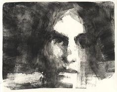 mono print face 2 by djones