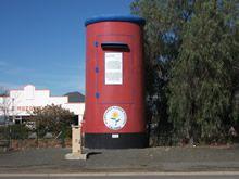A giant postbox in Calvinia. Desert Area, Post Box, West Coast, South Africa, Attraction, Road Trip, San, Heartland, Outdoor Decor
