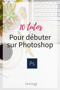 Tutoriels pour apprendre à utiliser Photoshop afin de pouvoir créer soi-même des images graphiques et différents effets pour les visuels de son entreprise.