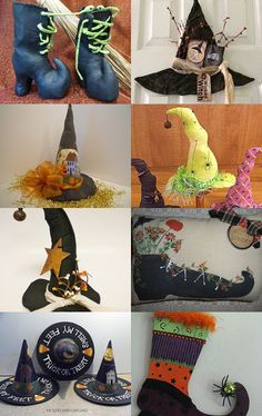 Here a witch, there a witch, a HAFAIR witch..... by Rhonda Cable on Etsy