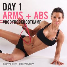 Are you ready to smash day 1 of BodyRock Boot Camp?? Click the link to hiit it!