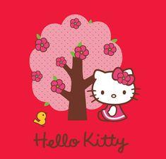 Hello Kitty   Fleurs
