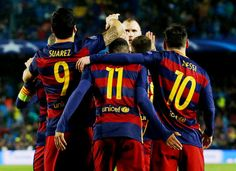 lionelandresmessii:  best.attacking.trio.in.history... - piquemar stan