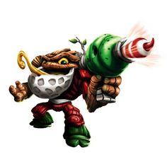 Skylanders Swap Force Jolly Bumble Blast Exclusive