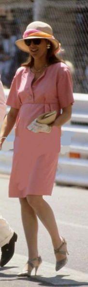 Monaco Grand Prix 1987 - Princess Caroline