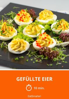 Gefüllte Eier - smarter - Zeit: 10 Min.   eatsmarter.de