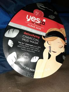 1) Yes To Tomatoes Clear Skin Acne With Salicylic Acid Detoxifying Charcoal Mud  #YESTO Black Mask, Salicylic Acid, Acne Skin, Clear Skin, Mud, Tomatoes, Bath And Body, Charcoal, Light Skin