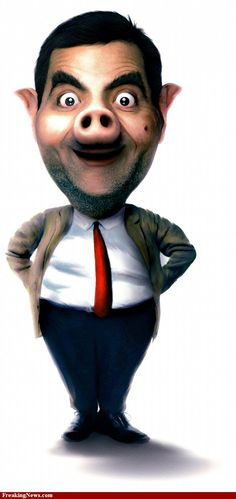 Image detail for -Pig Mr. Bean pictures