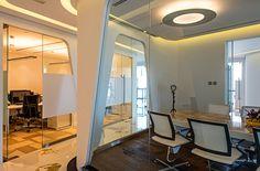 Дизайн интерьера офиса нефтяной компании от студии CLSE,meeting