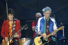 Friend in need: Jagger has had the full support of his band mates