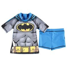 Boys Batman 2 Piece Swim Set