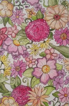Journal ~ Floral Print