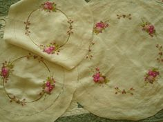 Doily table cloth #2, by Lia Jakarta..