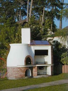 Nagyon olcsón építhetünk kerti kemencét saját kezűleg / ingatlan.net magazin Four A Pizza, Outside Room, Barbecue Grill, Barbacoa, Living Spaces, Outdoor Decor, House, Home Decor, Rooms
