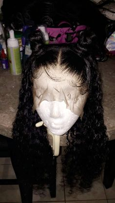 Beautiful hairstyles wigs for black women lace front wigs human hair wigs, etc. Baddie Hairstyles, Black Girls Hairstyles, Summer Hairstyles, Weave Hairstyles, Frontal Hairstyles, Wig Styles, Curly Hair Styles, Natural Hair Styles, Ponytail Styles
