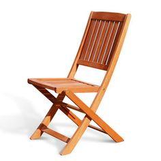 Vifah Folding Dining Side Chair (Set of 2)