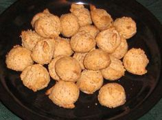 Amaretti Cookies (No Flour and Low-Fat) from Food.com:   								There is no flour in these cookies which makes them perfect for people with gluten allergies