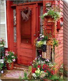 Red Door #myobsessionwithreddoors