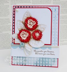 Greyt Paper Crafts: Festive and Floral with Die~Namites