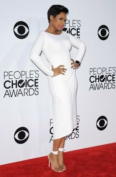 Jennifer Hudson - Arrivals at the People's Choice Awards