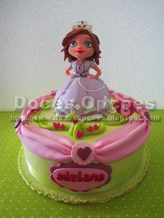 Doces Opções: A Princesa Sofia no aniversário da Adriana