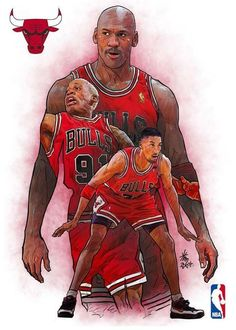 Big 3 Chicago Bulls