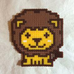 Lion perler beads by mikiyu0310