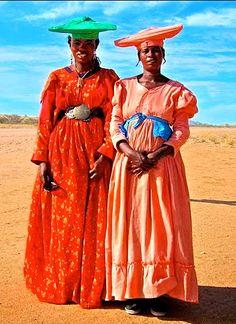 Herero women - Namibia, Botswana and Angola.