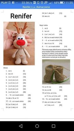 Christmas Crochet Patterns, Crochet Flower Patterns, Crochet Doll Pattern, Crochet Patterns Amigurumi, Crochet Motif, Crochet Wool, Crochet Gifts, Cute Crochet, Crochet Advent Calendar