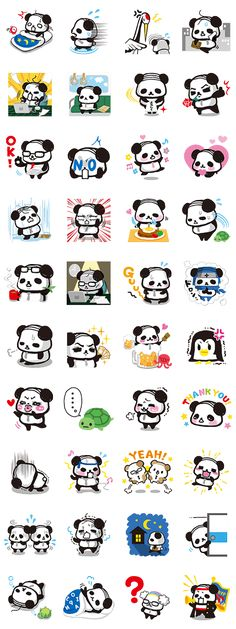 Everyone's favorite comb over sporting Ojipan is back to fill your chats with the unbearable suffering of the salarypanda life!