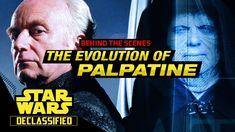 The Evolution of Palpatine (Behind The Scenes)   Star Wars Declassified - Star Wars Saga Latinamerica