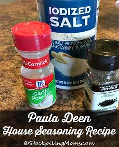 Paula Deen House Seasoning Recipe on Yummly. @yummly #recipe