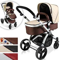 Infantastic® - Cochecito de bebé combinado 2 en 1 #products #carrito #baby #fashion #moda #circulogpr #happy #smilling #style #fashioninspiration #beautiful #mibebeyyo #pregnant #newbaby #embarazo #esperandounbebe #pregnancy #behappy #infantastic