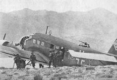 Junkers Ju 52/m3, 1Z+TK, 2./KGzbV 1, Crete, 1941