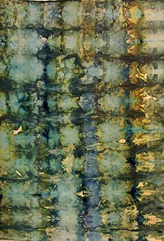 Terry Sargent Peart: Ice dyeing on a snow day Shibori, Textile Dyeing, Textile Art, Dyeing Fabric, Dyeing Yarn, Fabric Painting, Fabric Art, Vinyl Fabric, Painting Art