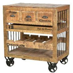 Weinregal ab 379,90 € ♥ Hier kaufen: http://www.stylefruits.de/wohnen/weinregal-moebilia/w5111995  #shabbychic #industrialstyle