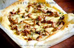 Blog kulinarny: Tarta z kurkami